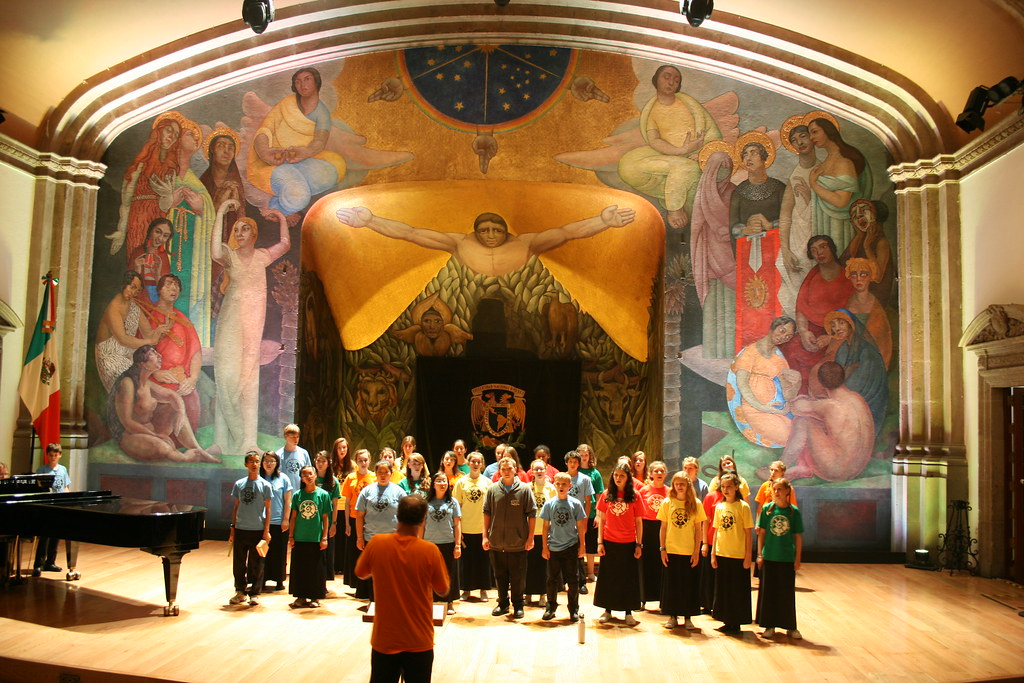 Piedmont East Bay Children's Choir 2012 Tour of Mexico