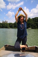 Yoga on the boat
