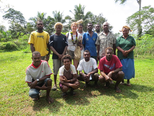 SF's product loader Clair in Vanuatu