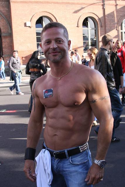 Folsom Street Fair 2012- Muscle Gods Rockin Abs- Sean -8099