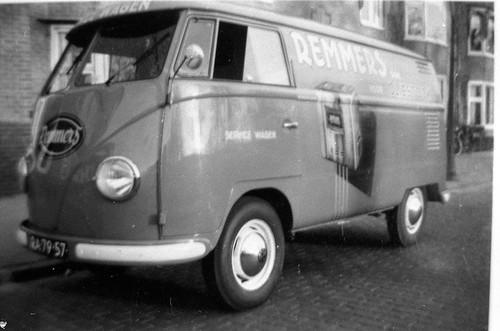 """RA-79-57 Volkswagen Transporter bestelwagen 1957 """"Remmers"""""""