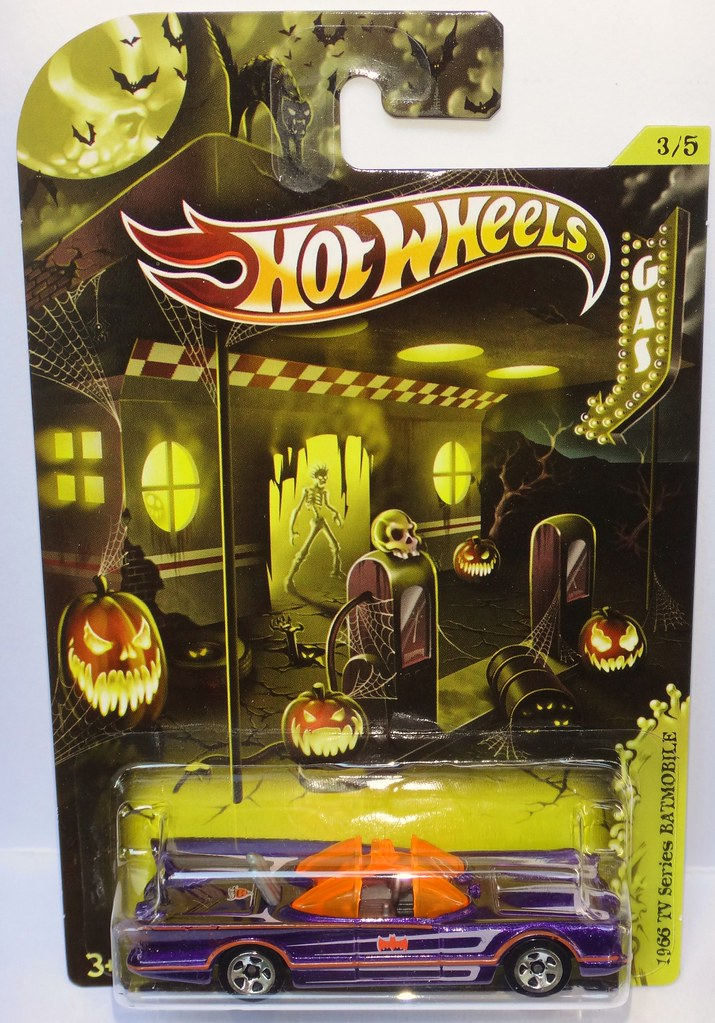 Hot Wheels 2012 Halloween exclusive Batmobile