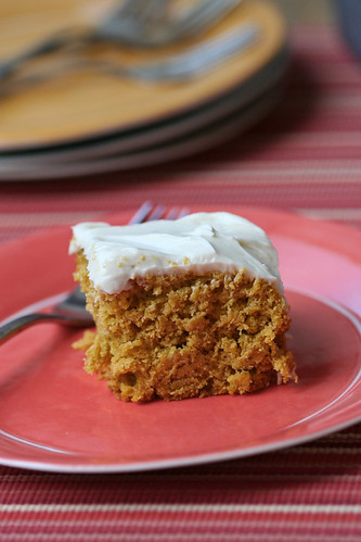 Kabocha Cake with Honey-Cream Cheese Frosting 2
