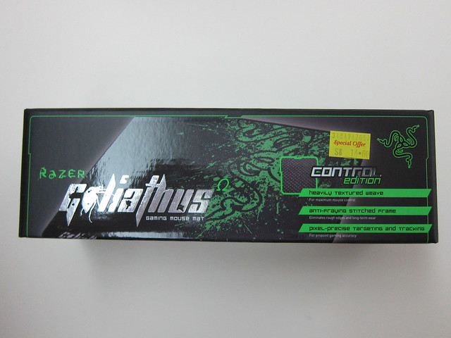 Razer Goliathus Control Edition Mouse Pad - Box Front