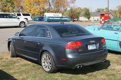 automobile(1.0), automotive exterior(1.0), audi(1.0), executive car(1.0), family car(1.0), wheel(1.0), vehicle(1.0), audi rs 4(1.0), automotive design(1.0), mid-size car(1.0), audi a4(1.0), compact car(1.0), bumper(1.0), sedan(1.0), land vehicle(1.0), luxury vehicle(1.0), vehicle registration plate(1.0),