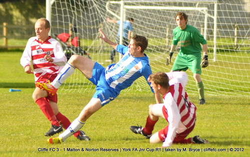 Cliffe FC 3 - 1 Malton & Norton Reserves (York FA Jnr Cup R1) 29Sept12