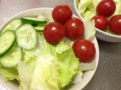 朝食サラダ (2012/9/7)