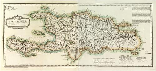 001-Carta de la Isla de Santo Domingo 1784