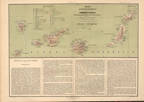 020-Islas Canarias-Atlas geográfico descriptivo de la Península Ibérica-Emilio Valverde-1880