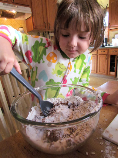 Stirring Crisp Mix