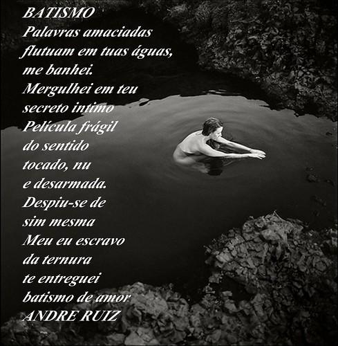 BATISMO by amigos do poeta