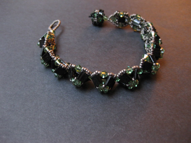 crystal mountains bracelet
