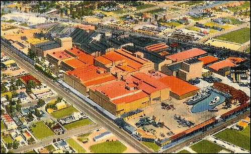 illustration of the MGM backlot