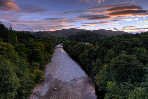 A river in Scotland