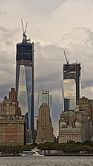 WTC from Governors Island by Lydia2222