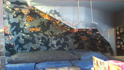5 Bouldering Overhang