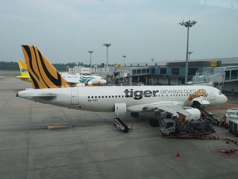 Tiger Airways, Changi AP in Sigapore
