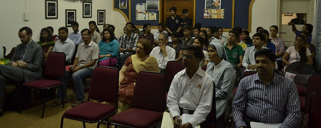 12 NGOs brought their IT projects to the 30+ students of DBIT