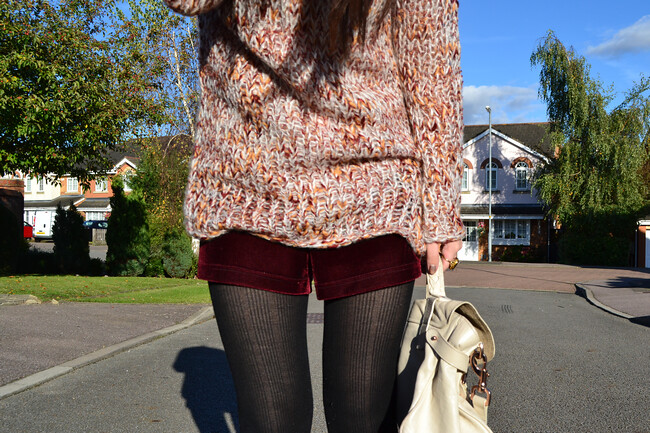 daisybutter - UK Style and Fashion Blog: what i wore, ootd, british style, AW12, glamorous, topshop