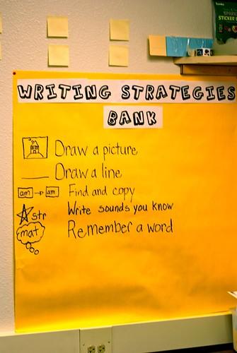 Writing Strategies Bank