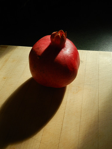 A portrait of Pomegranate - Granada