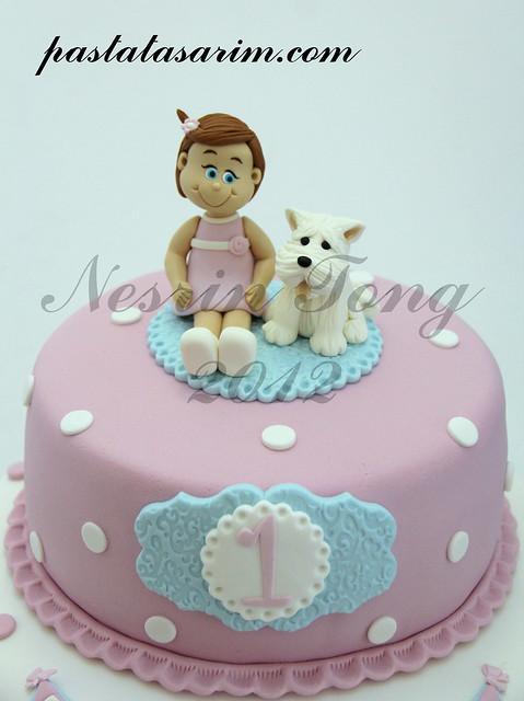 1st BIRTHDAY CAKE - BELIZ2