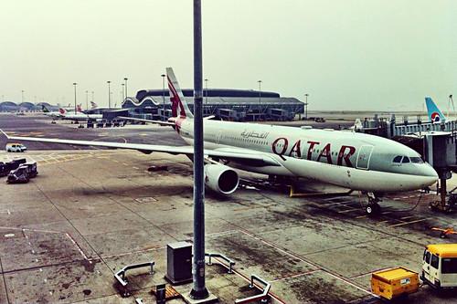 Qatar Airways HKG-DOH