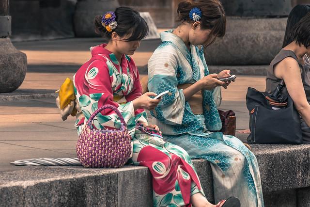 Girls in Yukata