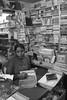 Goa in B&W: Golden Heart Emporium (bookshop) at Margao