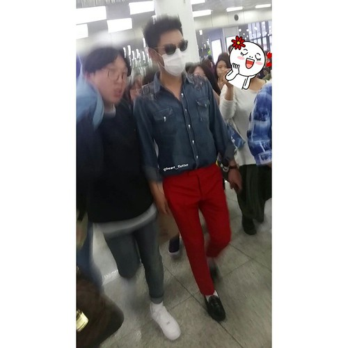 Big Bang - Gimpo Airport - 20may2015 - TOP - heart__flutter - 03