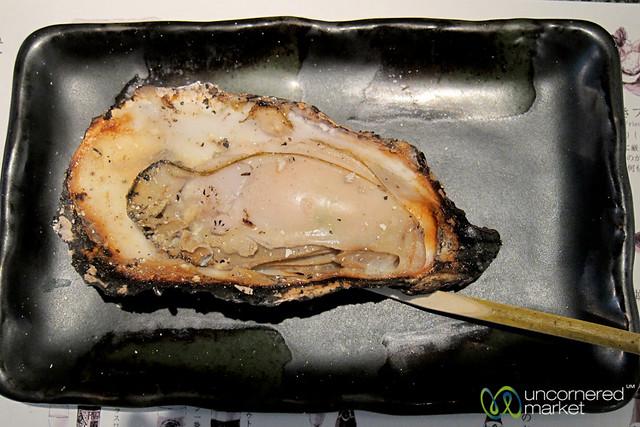 Grilled Oysters - Miyajima, Japan