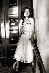[免费图片素材] 人物, 女性, 黑白色, 连衣裙, 加拿大人 ID:201209031800