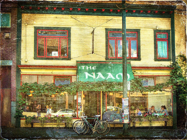 The famous Naam  restaurant in  Vancouver