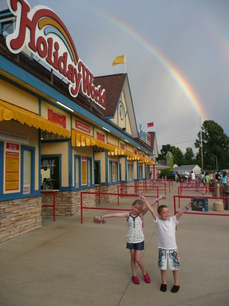Rainbow over Holiday World