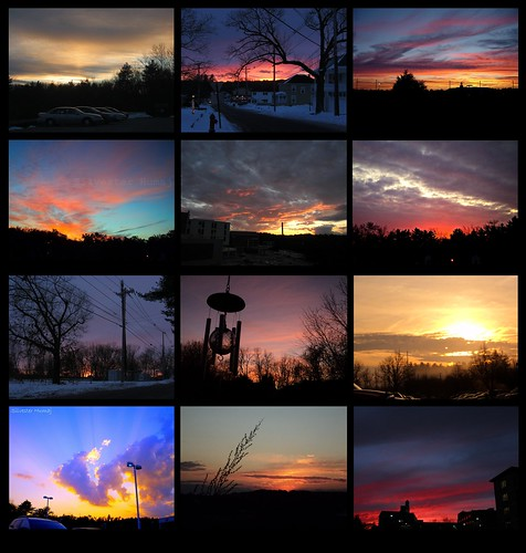 trees sunset sky usa sun tree beautiful lines collage clouds sunrise wow dawn photo amazing haze colorful skies power dusk mosaic massachusetts horizon sunsets pic nh lookup collection photographs dozen 12 inspirational heavens windchime twelve nashua lowell chelmsford 3x4 dracut 12sunsets
