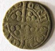 Silver penny circa 1305-1310