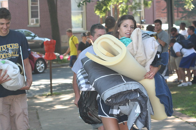 Wilkes Move-In Day 2012
