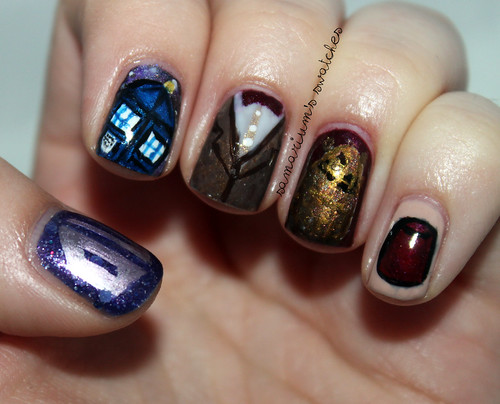 Doctor Who Nails (2)