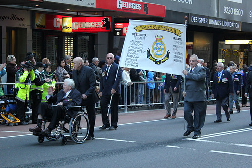 H.M.A.S. Quickmatch on 2012 Anzac Day March