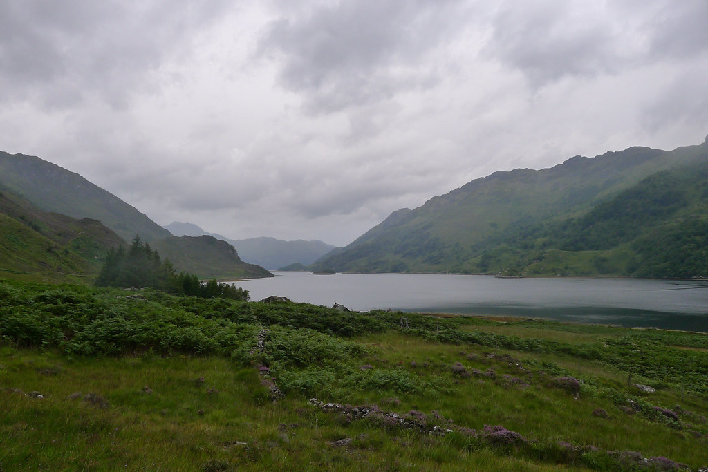 Loch Hourn and distant Knoydart