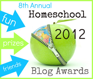 Homeschool Blog Awards 2012