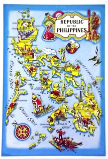 Postcards from Philippines, The: Map 3