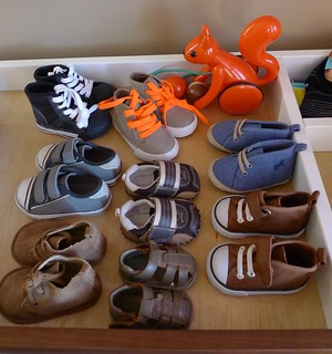 Baby boy shoe collection