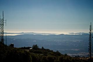Mount Diablo Towers &  San Francisco Bay