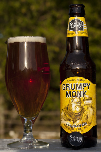 Cranky Blogger reviews a Grumpy Monk (Belgian IPA) by Cody La Bière
