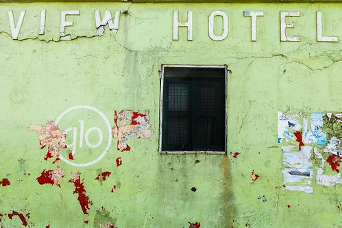 old travel green hotel view ghana accra delapidated viewhotel