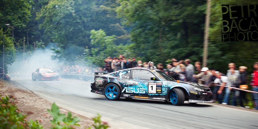 Pawel Trela, Nissan 200SX S13,5, Kryzstof Terej, Mazda RX7, DMP, Karpacz, Driftingowe Mistrzostwa Polski 2012