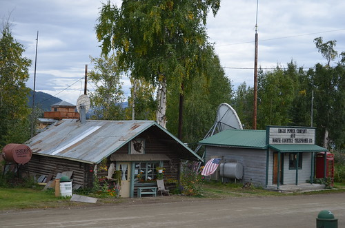Beautiful Downtown Eagle, Alaska