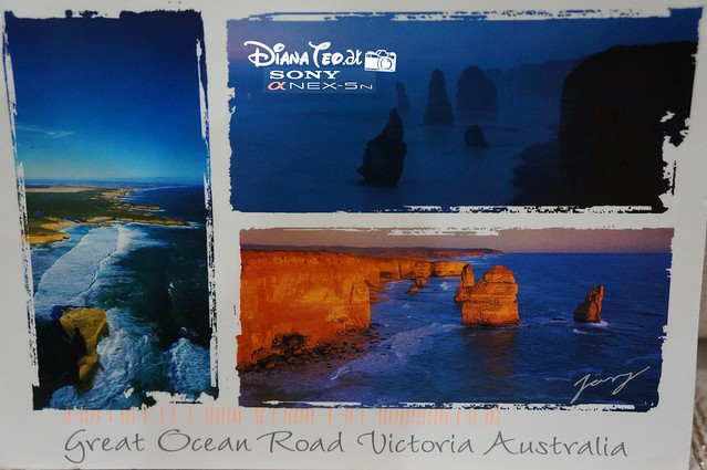 Postcard 13 - Australia Melbourne