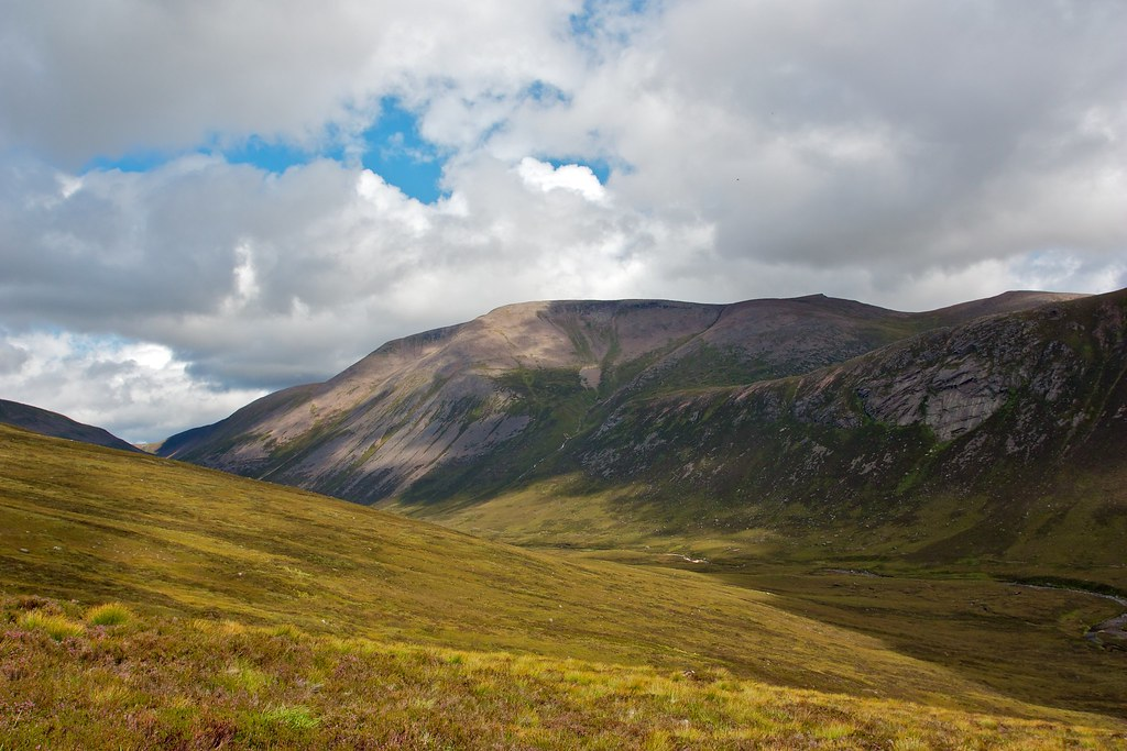Ben MacDui from Corrour